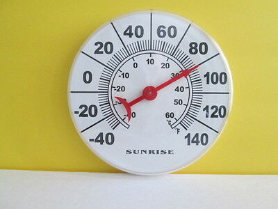 Thermometers for Indoor and outdoor  100% accurate  Sunrise Brand
