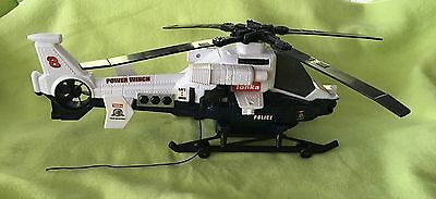 Hasbro Tonka 2014 Police & Rescue Helicopter With Winch Sounds Lights
