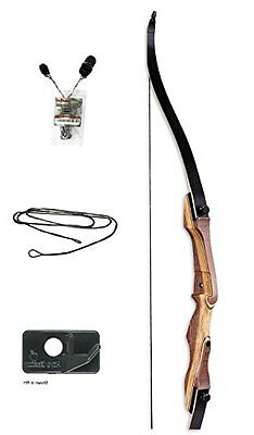 Samick Sage Takedown Recurve Bow, 45 lb, Left Hand - WITH STRINGERTOOL