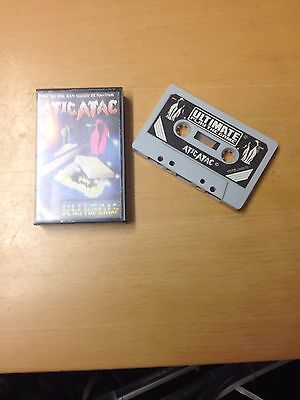 Atic Atac By Ultimate Play The Game,spectrum 48k..(white Version)