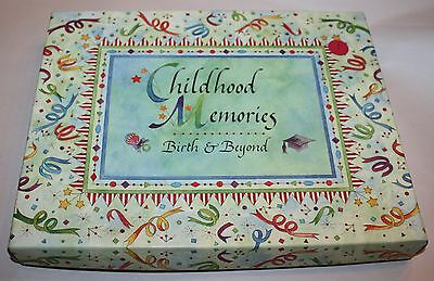 Nittany Quill Talus CHILDHOOD MEMORIES Baby Gift birth & beyond Photo Album New
