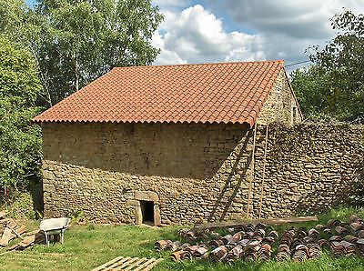 Detached Granite Barn For Conversion Central France with Land and Woodland