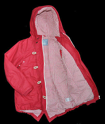 Next Girl Jacket Coat 10 Years Eur 140Cm Red Hooded Parka Winter