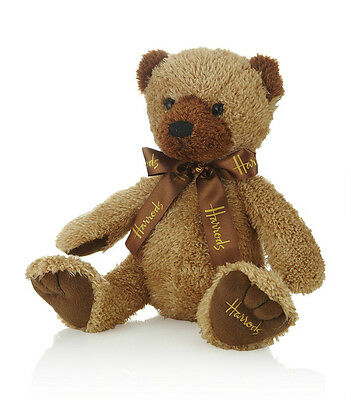 Harrods Irresistible Large Traditional English Gramps Bear Bnwt - Great Gift
