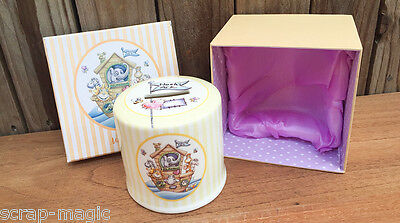 Noahs Ark Porcelain Money Box - Christening, Baptism or New Baby Gift
