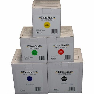 Genuine Theraband 50 Yard (45M) Dispenser Box - All Colours - Cheapest Online!