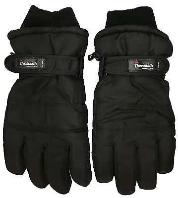 Men Extreme Cold Weather 3M Thinsulate Insulation Waterproof 40Gram Ski Gloves