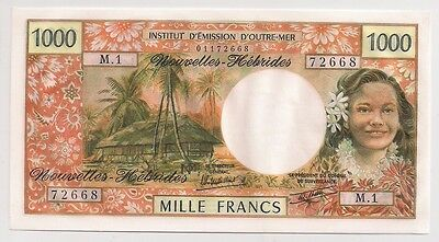 New Hebrides 1000 Francs ND UNC P20?