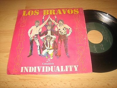 "Los Bravos - Individuality - Vive La Vida  Columbia Spain 7"" 45Rpm Single 1969"
