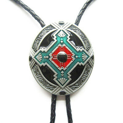 Native Indian Western Cowboy Rodeo Bolo Tie