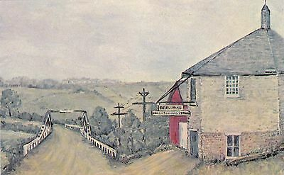 POSTCARD - Alloway Blacksmith Shop. Painting By Dorohy Logan.  UNPOSTED