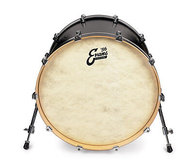 "Evans Calftone Bass Kick Drum Heads, Std, EQ4, Emad, 16"", 18"", 20"", 22"", 24"""