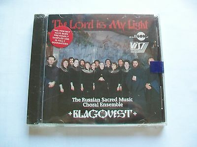 The Lord Is My Light: Russian Sacred Music by Blagovest (CD, 1990, Multisonic).