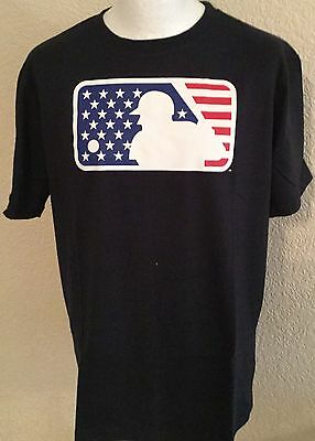 Majestic Athletik MLB Gerber Tee - Medium Marine