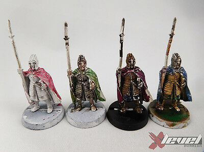 Citadel Guard -Metal [x4]  Kingdom of Men [The Lord of the Rings ] Assembled