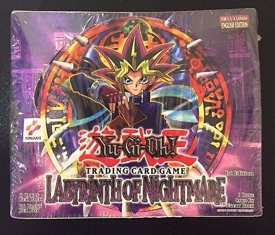 Yu-Gi-Oh Labyrinth of Nightmare 1st Ed. 36 Pack New Factory Sealed box GEM MINT!
