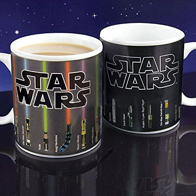 Heat Resistance Cold Star Wars Color-Changing Coffee Mug Cup Drinkware