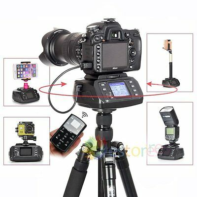 TRIOPO AD-10 Automatic Panorama Tripod Head Remote For DSLR Camera iPhone Gopro