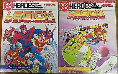 DC Heroes Role Playing Reference - Legion of Super-Heroes Volume 1 & 2