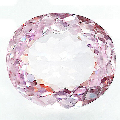 Exclusive 23.10 Ct Oval Shape Stunning Pink Sapphire (Lab Created) Corundum