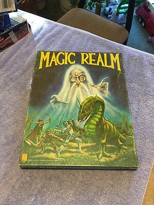 Magic Realm Game by Avalon Hill Very Nice Great Gift