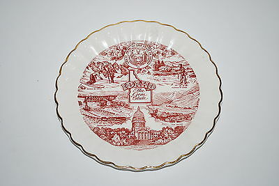 7 3/8 inch diameter Idaho - The Gem State - Decorative Plate - NICE!!!