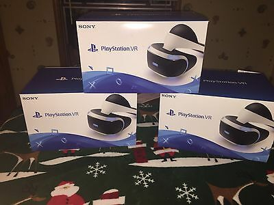 Playstation  VR CORE HEADSET Virtual Reality Headset PS4 PSVR *NEW SEALED*