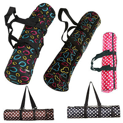 Fitness Yoga Mat Pad Carrier Bag Adjustable Shoulder Strap Sling Bag