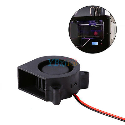 DC12V 40mm 4500RPM Brushless Cooling Fan Air Blower Blow Radial 3D Printer Parts