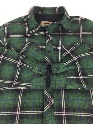 Irish Setter by Red Wing Shoes Outdoor flannel shirt, mens L large