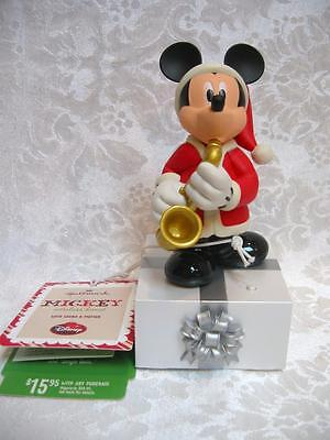 Hallmark Disney Wireless Band Mickey Mouse Musical Figurine