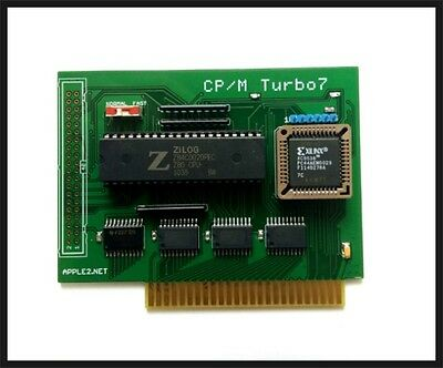 CP/M Turbo7 (Z80CPU Softcard compatible)