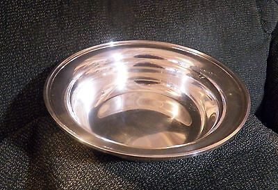 """S. Kirk & Son 8"""" Round Sterling Silver Bowl"""