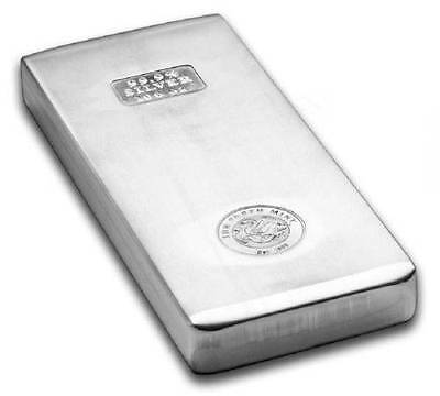 Perth Mint 100oz Silver Bullion Bar