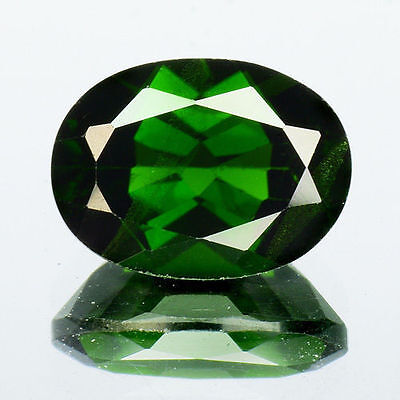 Fabulous 1.40Cts Natural Green Chrome Diopside Oval Loose Gemstone 100% Natural