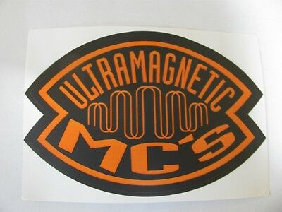 Ultramagnectic Mc's Ultra Rare (Promo Only) 1993 Orig. Sticker!!