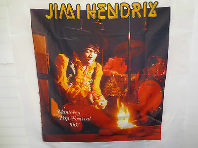 Jimi Hendrix Contemporary Art Wall Hangings Fabricon Rock & Roll Voodoo Child