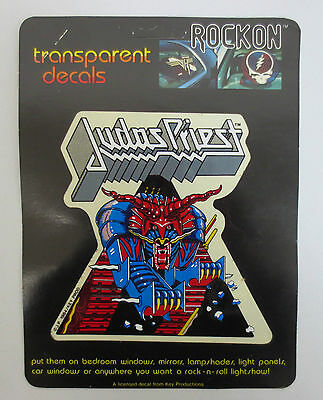 Judas Priest Rock On Decal Car Window Mirror Decals Rock & Roll Key Productions