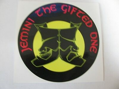 Jemini The Gifted One - Ultra Rare (Promo Only) 1995 Orig. Sticker!!