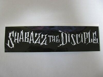 Shabazz The Disciple - Ultra Rare (Promo Only) 1995 Orig. Large Sticker!!