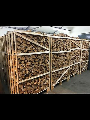 2 Cubic Metre Crate Of Kiln Dried Logs