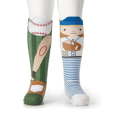 Demdaco Kids Boys Baseball  story time Socks Collection holiday fun cute gifts
