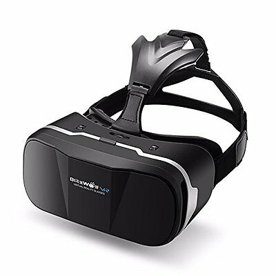VR Headset, BlitzWolf 3D Viewer Glasses Virtual Reality Box Google Cardboard for