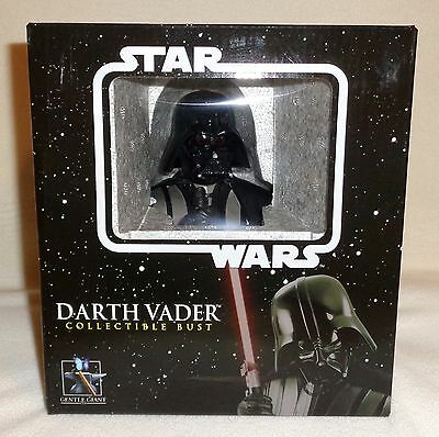 Star Wars Gentle Giant DARTH VADER Mini Bust Statue Limited Ed. #1504 ROTS NEW