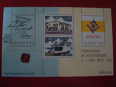 Aland - 1993 - Minisheet - Umm - Excellent Condition