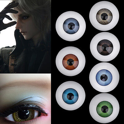 Reborn Supplies Doll Baby EYES 25mm Newborn Different Colors OG