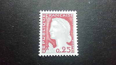"""France 1960. Timbres**  N° 1263  """" Visage Double """"."""