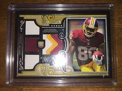 Jamison Crowder Topps Museum Multi Color Quad Rc Relic Only /99 Made!