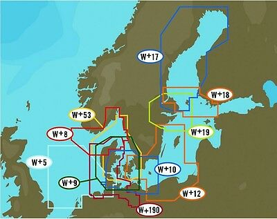 C-Map NT+ WIDE AREA for BALTIC AND CENTRAL EUROPE