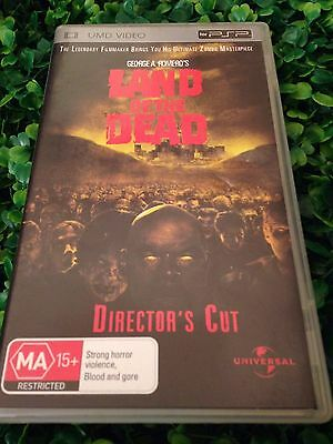 PSP UMD Movie Disc - Land of the Dead   * Director's Cut * by George A Romero